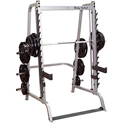 Body Solid Series 7 GS348Q Smith Machine with Linear Bearings