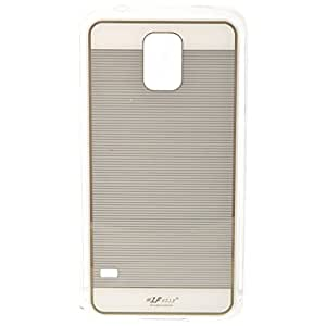 LFszlf Silicon Back Cover Gold Lining Cover For Samsung Galaxy S5 (Golden Lining On Black)
