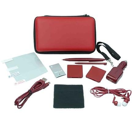 Crown 12-in-1 Deluxe Traveller Kit : Wine Red (DSi XL) [Importación inglesa]