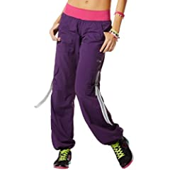 Buy Zumba Fitness Ladies Craveworthy Cargo Pant by Zumba Fitness