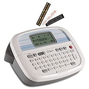 Brother Personal Labeler Machine, White (PT90)