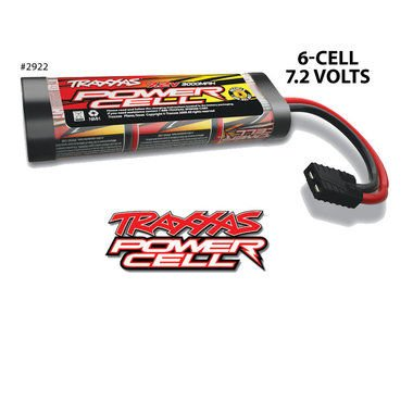 Traxxas 2922 NiMH 6 Cell 7.2V 3000mAh Flat Pack with TRX Connector