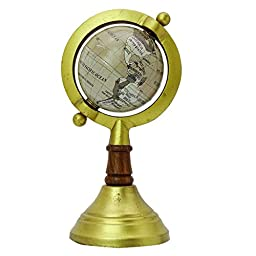 MiniDesktop Rotating Globe World Earth Globes Car Dashboard Table Décor 6\