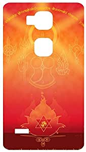 Goddess Durga Back Cover Case for Huawei Ascend Mate 7