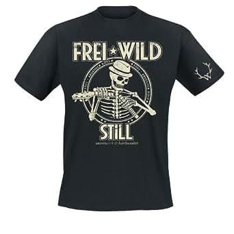 Frei.Wild - Broken Silence T-Shirt, schwarz, Grösse S