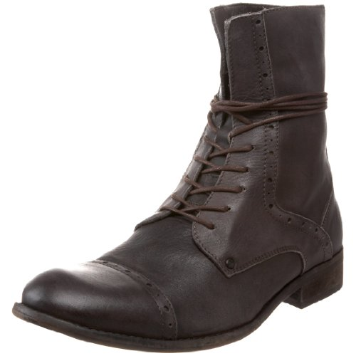 Fly London Men's Walter Brown Lace Up Boot P141689000 10 UK