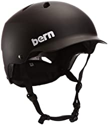 Bern Watts Men's Summer EPS Matte Helmet by Bern