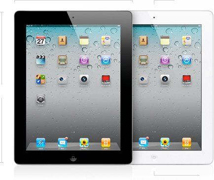 Imagen de Apple iPad 2 MC979LL / A Tablet (16GB, Wifi, Blanco) 2 ª generación