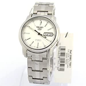Seiko Men 5 Automatic 7S26 Analog SNKL75 SNKL75K1