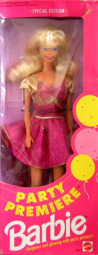 Barbie - Party Premiere - Special Edition Doll - 1992 Mattel - 1
