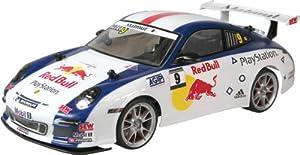 Nikko - 142 400 C2 - Véhicule Miniature - Porsche 911 GT3 Red Bull New Génération - Echelle 1:14