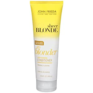 John Frieda Sheer Blonde Go Blonder Lightening Conditioner, 8.45 Fluid Ounce (Pack of 2)