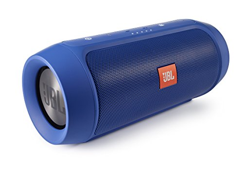 JBL Charge 2+ Splashproof Portable Bluetooth Speaker (Blue)