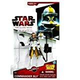 "Commander Bly CW39 Star Wars Clone Wars Action Figurevon ""Hasbro"""