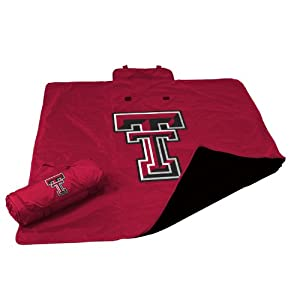 NCAA Texas Tech Red Raiders Weather Blanket by Logo Chairs Inc