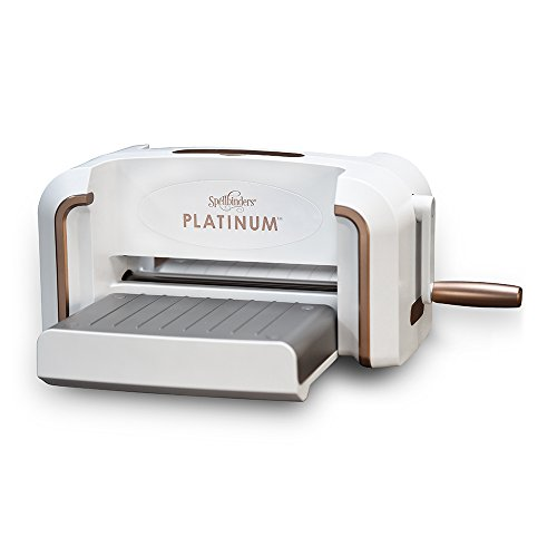 Spellbinders PL-001 Platinum Die Cutting and Embossing Machine, White (Chipboard Cutting Machine compare prices)