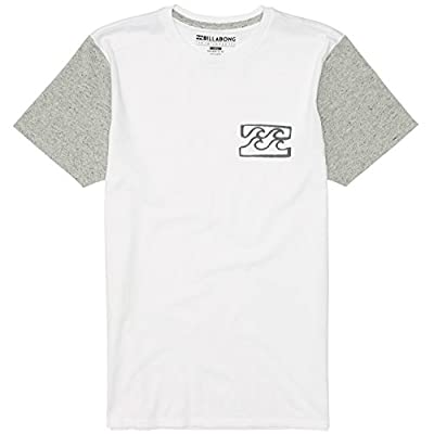 Billabong Men's Blocked Ez Up Crew T-Shirt