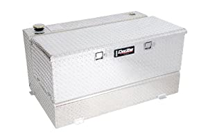 Dee Zee DZ91741 Combo Transfer Tank and Utility Chest - Aluminum