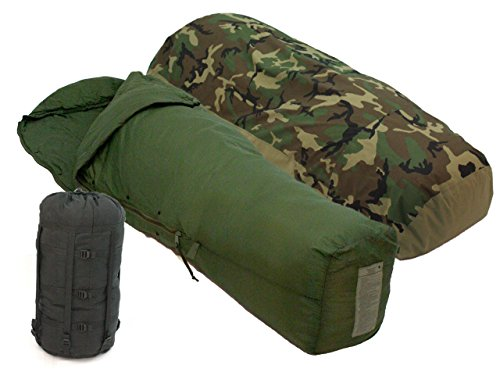 3pc. Us Military Modular Sleeping Bag System