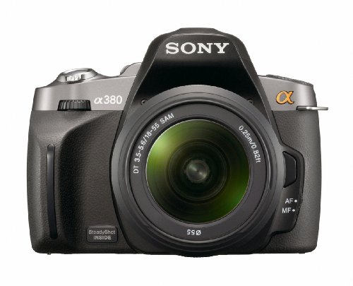 Sony Alpha DSLR-A380 (with 18-55mm Lens) is the Best Sony Digital SLR Camera Overall Under $800