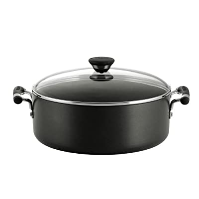 Circulon Acclaim Hard Anodized Nonstick 7-1/2-Quart Covered Wide Stockpot