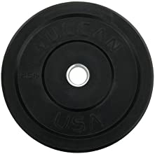 Bumper Plate Set of 2 Weight 25 lbs