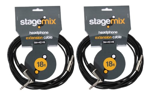 Elite Core EC-HEX18 Standard 18' Headphone Extension