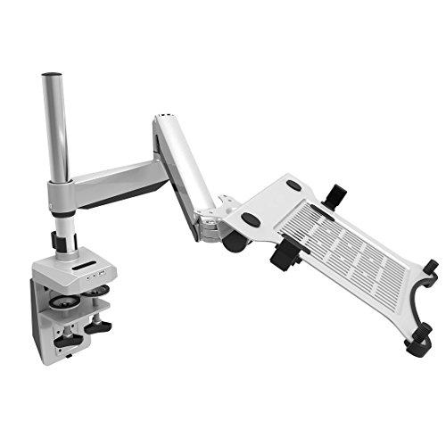 Loctek D7P Swivel Desk Laptop Mount Arm Stand, Fits 10.1