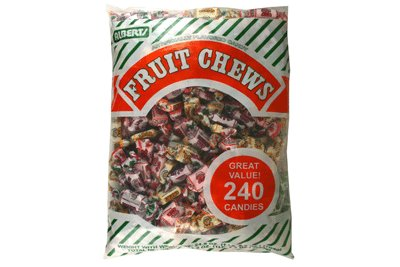 Albert&#8217;s Chews Fruit Assorted Piece Bag 240
