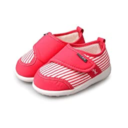 H:oter® Newborn Baby Toddler First Walking Shoes, Squeaky Prewalker Shoes