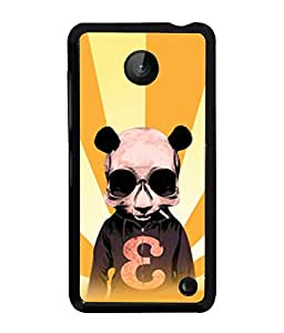 Fuson 2D Printed Designer back case cover for Nokia Lumia 630 - D4585