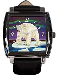 buy Polar Bear Watch - From My Painting - Support Wildlife Protection, Read How