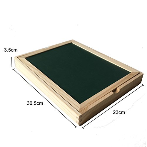 YIXIN Dibujo Magnética Placa de Madera del Rompecabezas con la Caja para Niños de 3 Años +