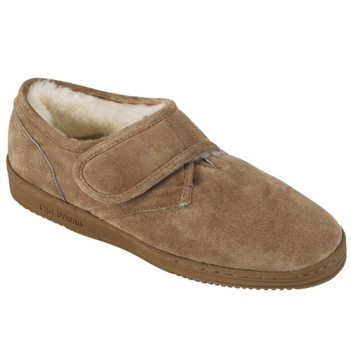 Mens Adjustable Bootee Slippers