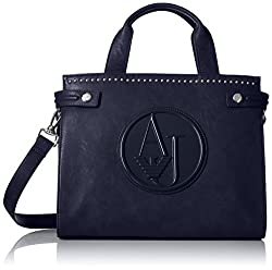 Armani Jeans ZY Crossbody Tote Convertible Top Handle Bag