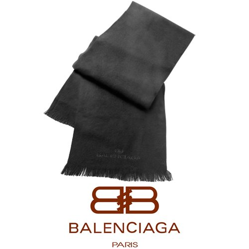 Momparler1870 - Sciarpa della collezione Balenciaga in acrilico e viscosa Dimensioni: 190 x 25,5 cm.