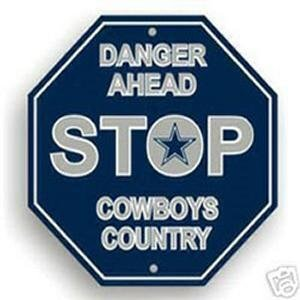 Dallas Cowboys Stop Sign at Amazon.com