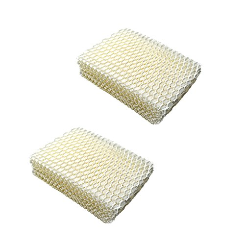 HQRP 2pack Humidifier Wick Filter for Relion Honeywell Duracraft WF813 AC-813 AGW-813 D13-C HAC506 ACR-832 HC832 Replacement + HQRP Coaster (Relion Humidifier Filter 813 compare prices)