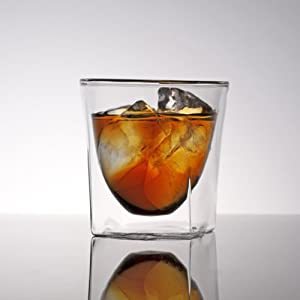 RayES/レイエス ダブルウォールグラス RDS-004 200ml [1個入り(単品)] 保冷 保温 耐熱 結露しにくい 食洗機対応 タンブラー 焼酎グラス ロックグラス ウィスキーグラス ラッピング対応(ギフト プレゼント)