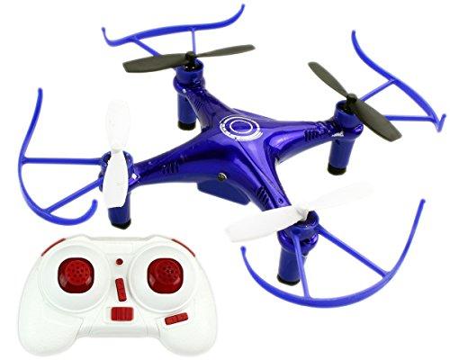 GYD-Clone-Kampf-Drone-im-Doppelpack-Set-Blue-Sky-vs-Gold-Sky-Kunstflug-Quadrocoptern-360-LOOPING-Funktion