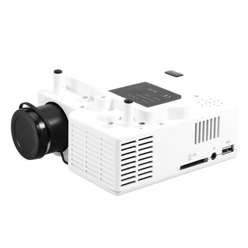 Hd 3d tv reviews lightinthebox mini hd home led for Mini usb projector review