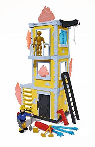 Simba Toys 109251053 - Torre da addestramento di Sam il pompiere con personaggio in miniatura