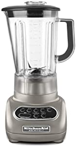 KitchenAid 5-Speed Blenders with Polycarbonate Jars (Silver Architect (Macys Color))