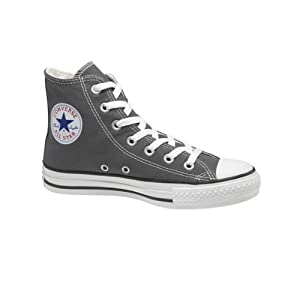 Converse All Star Hi Shoes - Charcoal - UK 8