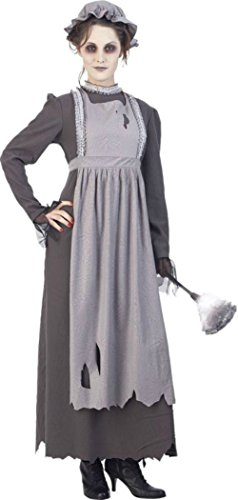 Papermagic Womens Elsa The Ghost French Maid Theme Party Fancy Halloween Costume