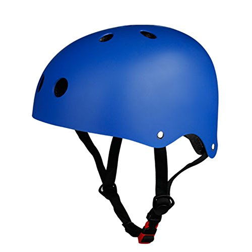 [Kuyou] Helmet ABS Hard Rubber for Skateboard /Ski /Skating/Roller Snowboard Helmet Protective Gear Suitable Kids and Youth,(Blue)