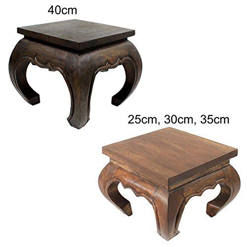 Opiumtisch Opium Tisch Beistelltisch Massiv Holz