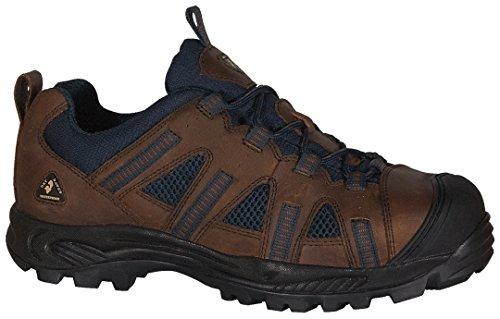 Golden Retriever Men's 1305 Composite Work Shoe,Brown/Blue,9.5 W US