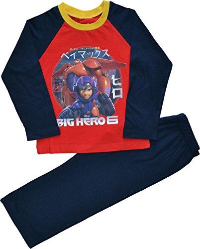 Big Hero 6 -  Pigiama due pezzi  - Maniche lunghe  - ragazzo rosso 5 anni