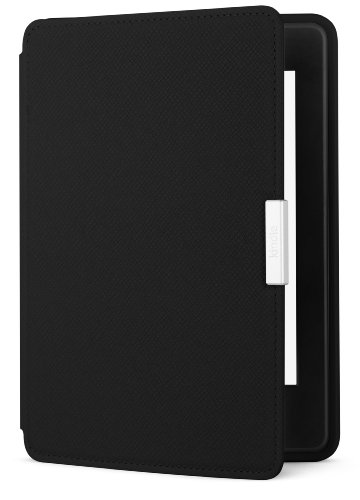 Amazon Kindle Paperwhite Leather Cover, Onyx Black (does not fit Kindle or Kindle Touch)